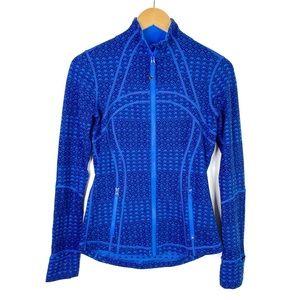 Lululemon NEW Define Jacket Size 6 Lakeside Blue